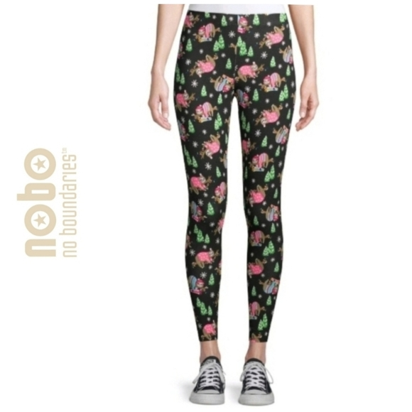 Different Patterns NEW NoBo Juniors Ankle Leggings No Boundaries Stretch